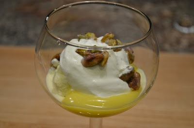 Lemon Curd-Pistachio Sundaes Recipe — Dishmaps