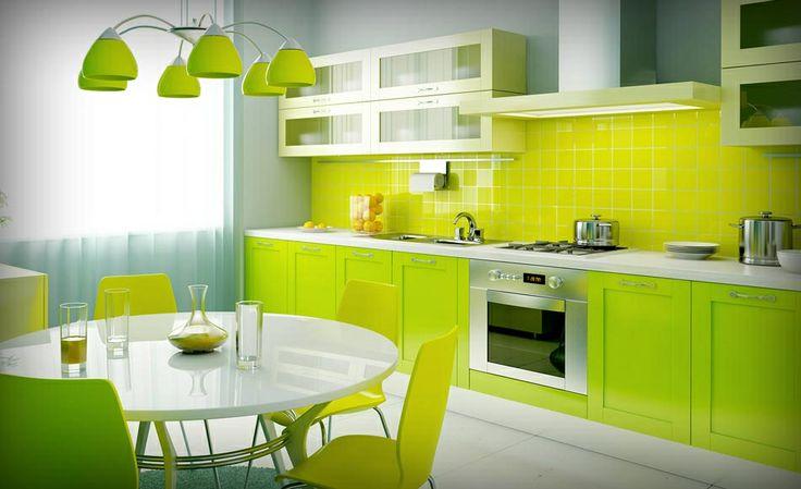 Apple Green Kitchen Room Decoration Pinterest