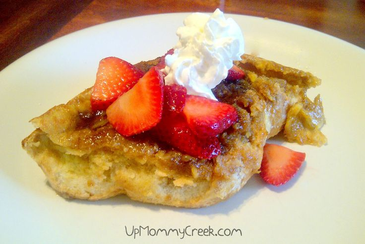 Lightened Up Creme Brulee French Toast Recipe — Dishmaps