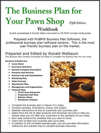 pawn business plan
