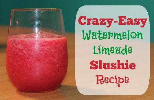 Watermelon-Limeade Recipe SO yummy and easy!