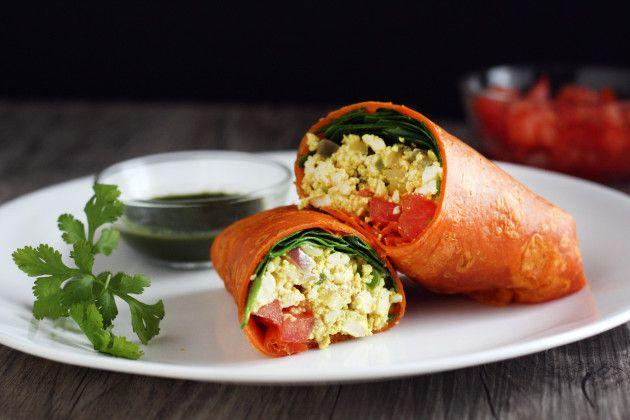 Tofu Scramble: Protein Packed Breakfast | Fresh-Minded | Pinterest