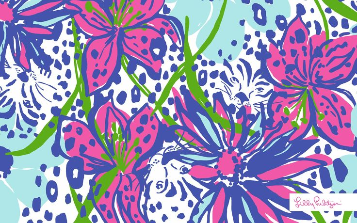 lilly pulitzer wallpaper inthegarden 3 000