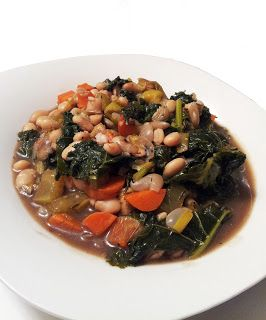 Navy Bean & Kale Soup | A Profound Hatred of Meat