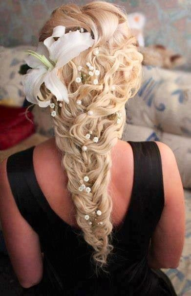 fishtail braid wedding - photo #13