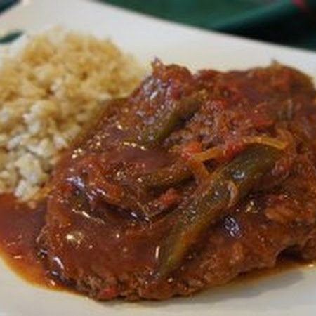Swiss Steak with Peppers Recipe | Recipes | Pinterest
