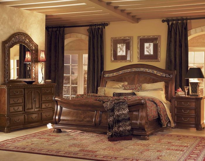 sleigh bed design ideas