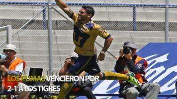 14 abril 2013 Los Pumas de la UNAM derrotaron por 2-1 a los Tigres de ...