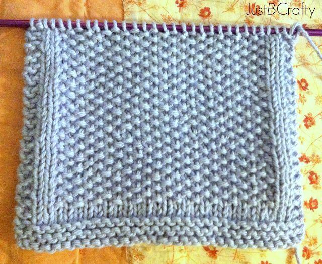 Seed Stitch Knitting By Judy : Seed Stitch Dishcloths Knitting Pinterest
