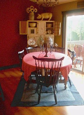 Country Style Dining Room Country Chic Pinterest