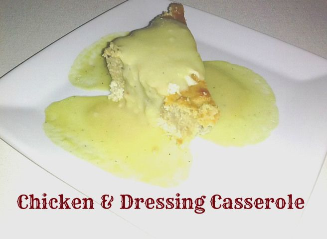 Chicken Cornbread Casserole | Holiday Recipes | Pinterest