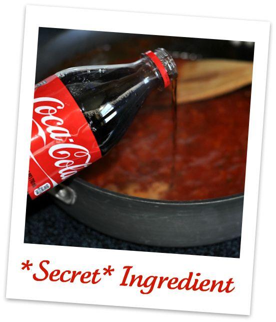 BBQ Pork n Beans with Coca-Cola BBQ Sauce & Cherry Coke Lava Cakes