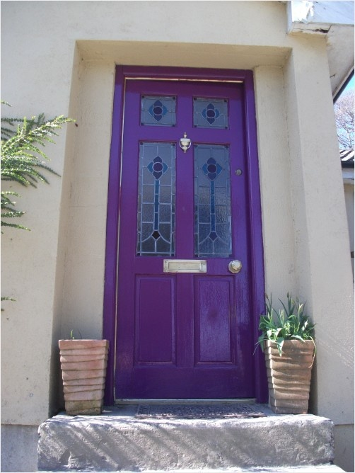 Purple Front Door The Aldridges 39 Reminds Me Of