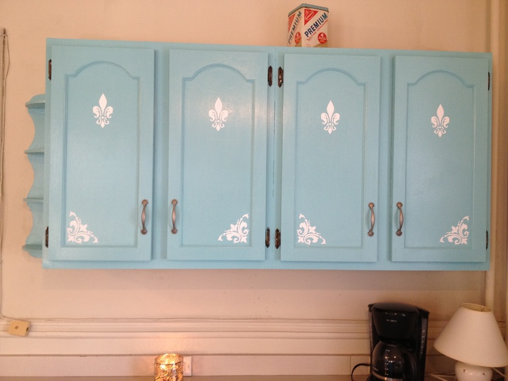 Turquoise Kitchen Cabinets Home Style Pinterest