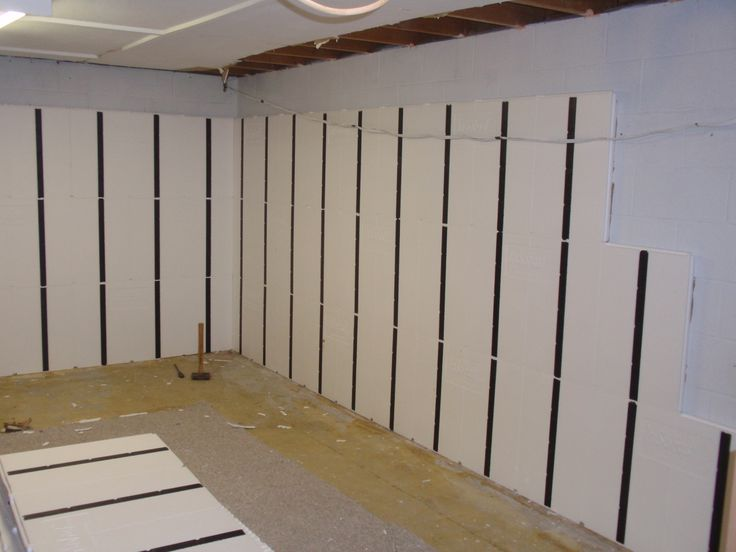 diy basement insulation project sent to us by a happy customer i