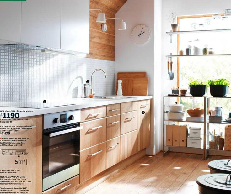 Ikea Norje Kitchen Style Unit 2 Ikea Kitchens Pinterest