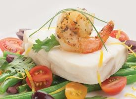 Recipe: Lemon Poached Halibut with Green Bean Salad. Perfectly ...