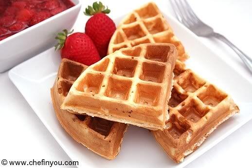 Classic Waffles Recipe | Best Belgian Waffles Recipe