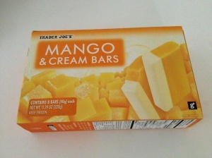 trader joe s mango amp cream bars so so good and so small they re ...