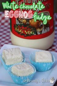 White Chocolate Eggnog Fudge. | Recipes - Eggnog | Pinterest
