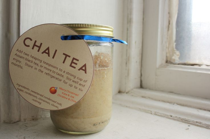 edible gift} homemade chai concentrate