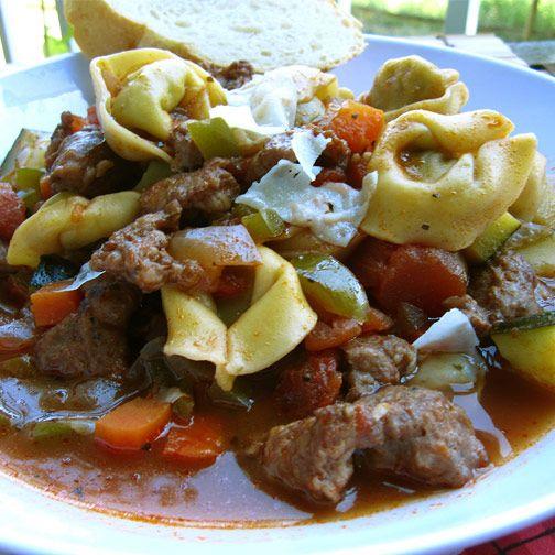 Italian Sausage Tortellini Soup | Recipe