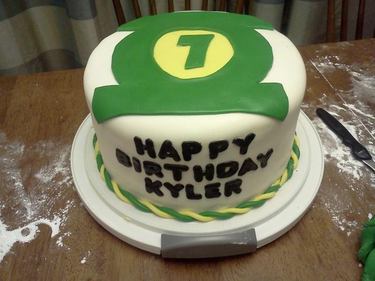 Green lantern birthday cake  boys cakes  Pinterest
