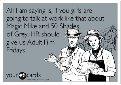Haha from all the guys at work!!
