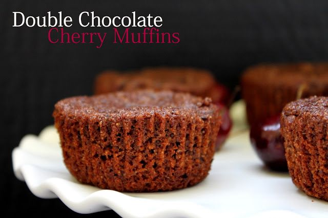 ... Pleasure Health: Double Chocolate Cherry Muffins | Its' Eggless too