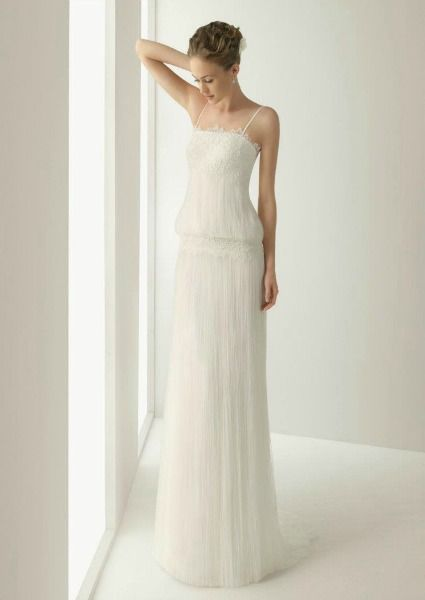 Robe de mariée vintage Rosa Clará 2013  Wedding dress  Pinterest