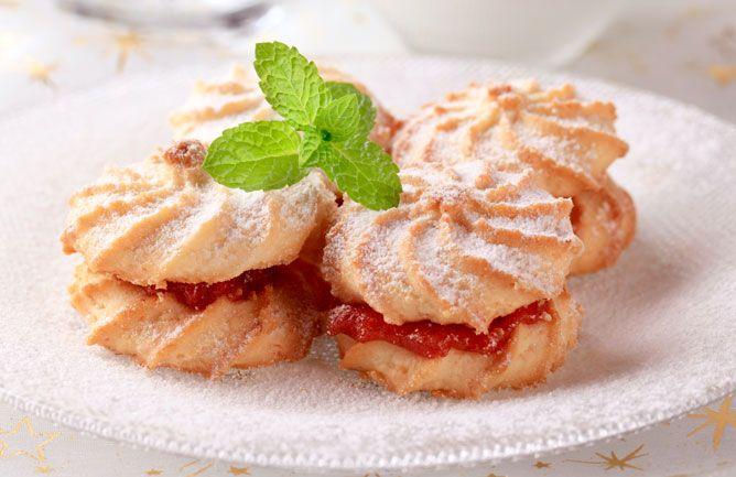 Shortbread Sandwiches Recipe — Dishmaps