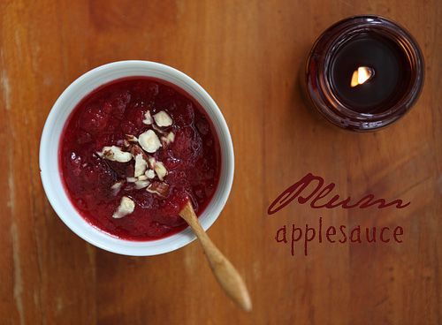 plum applesauce had a bunch of plums i needed to use and this was a ...