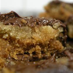 Chocolate toffee crunch bars... yummm..