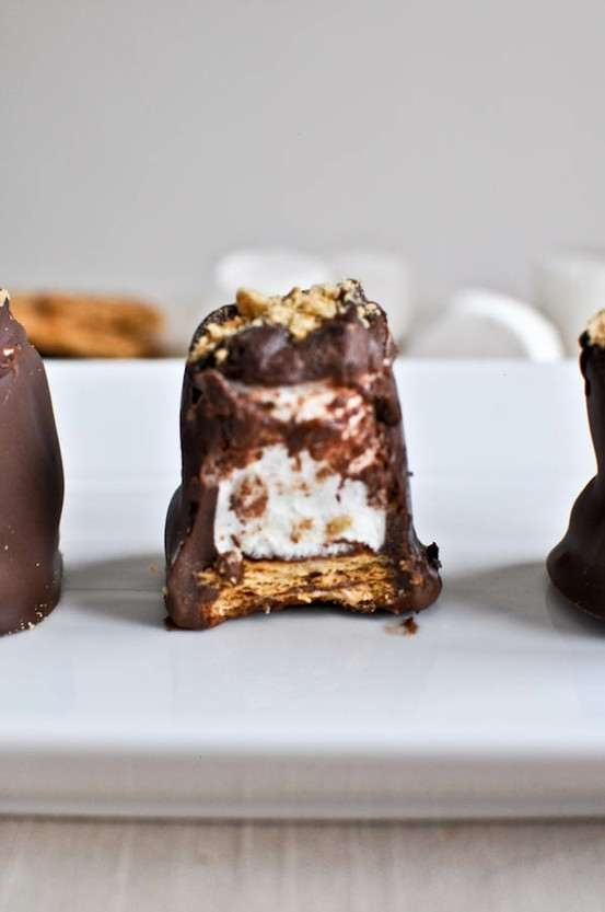Homemade smashing s'mores | Food/Drink | Pinterest