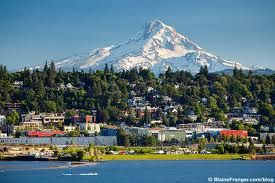 I love driving here and drinking a beer at Full Sail Brewery.. Hood river oregon