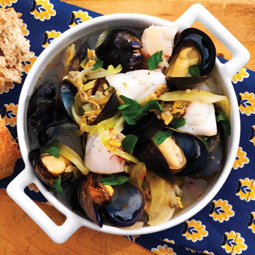 Easy Make-Ahead Bouillabaisse - clean | Sopa | Pinterest