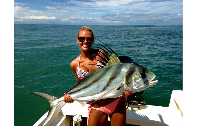 Costa rica roosterfish 7 yes gone fishing pinterest for Rooster fish pictures