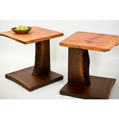 LIVE EDGE MAPLE SLAB SOFA amp END TABle Woodworking Ideas