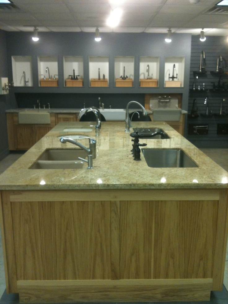 Kitchen Sink and Kitchen Faucet Options Our Denver Showroom ...