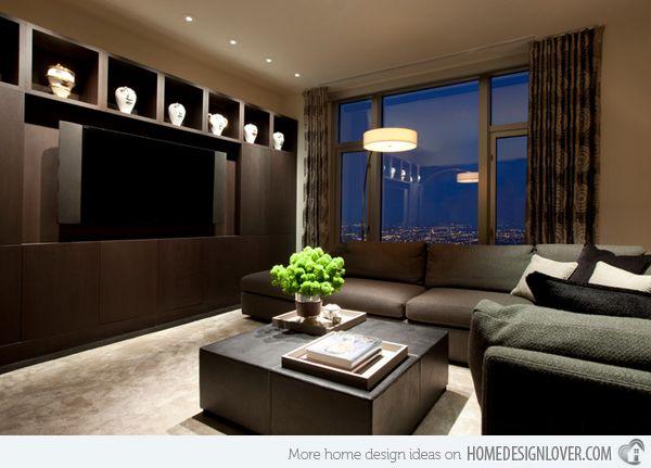 15 modern day living room tv ideas apartment pinterest for Modern day living room