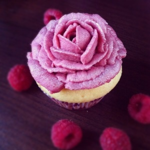 Raspberry-Rose water infused Cupcakes | My home Cookings and Bakings ...