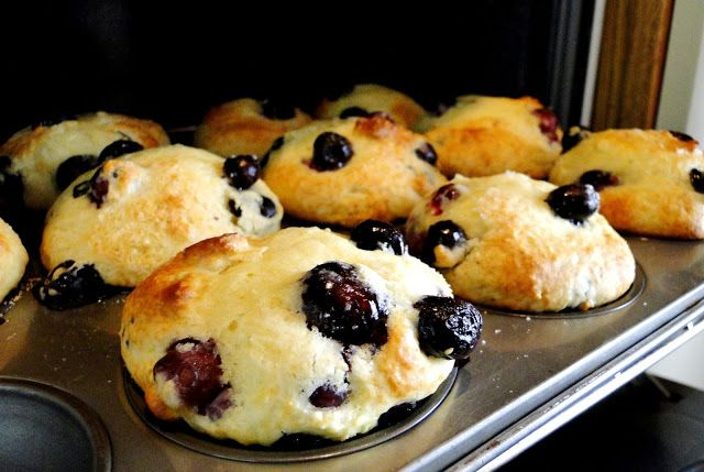 Lemon Blueberry Muffins | get in my mouth | Pinterest
