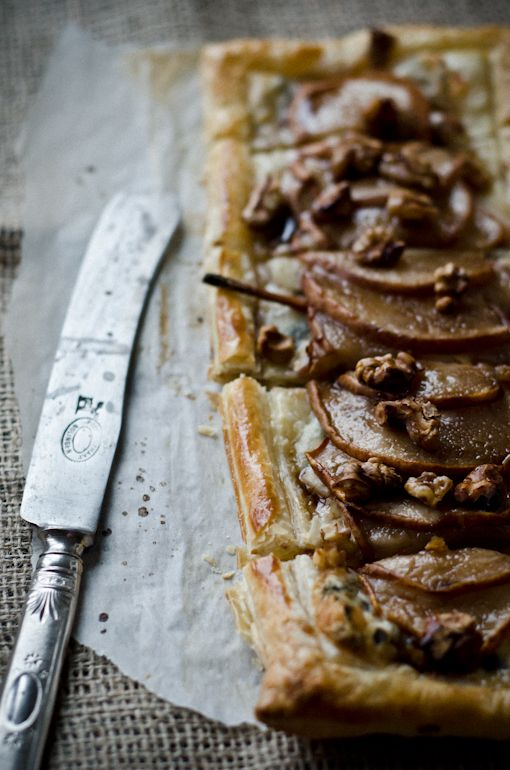 Pear and Gorgonzola Tart: my lunch today | Taste | Pinterest