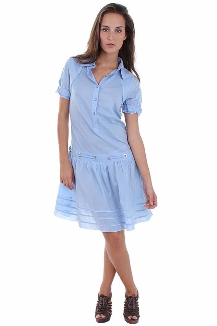 Muslin Shirt Dress from Jean Paul Gaultier on Brandsfever