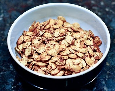 Toasted Pumpkin Seeds | looooves | Pinterest