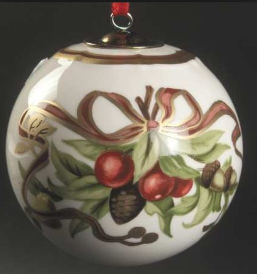 Tiffany & Co. Porcelain Ornament