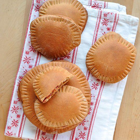 Whole Wheat Double Peanut Butter & Jelly Pockets   Recipe