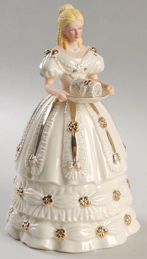 yellow lenox figurines | Lenox China Classic Ivory Figurine.
