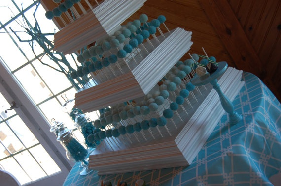 Wedding Cake Pops Stand Wedding Ideas Pinterest