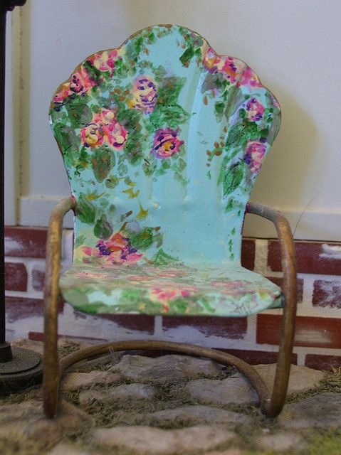 Paint A Chair Luv Luv Art Expressions Pinterest